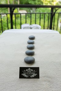 mobile hot stone massage